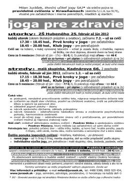 Stiahnuť plagátik j o g a p r e z d r a v i e 2012 , ako pdf dokument