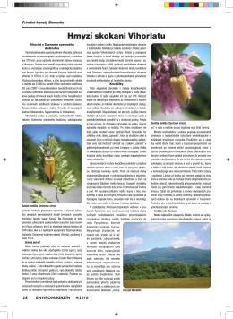 Hmyzí skokani Vihorlatu - Slovenská agentúra životného prostredia