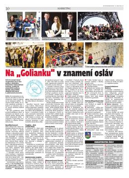 """Na """"Golianku"""" v znamení osláv - Gymnázium, Golianova 68, Nitra"""