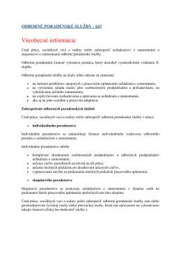 Všeobecné informácie - Úrad práce, sociálnych vecí a rodiny Čadca