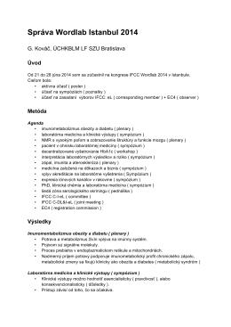 02 150109 Kováč LABMED Správa Wordlab Istanbul 2014.pdf