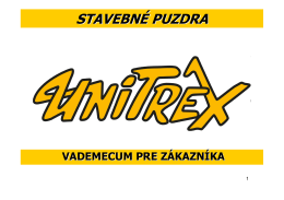 prezentácia puzdra unitrex u.r.