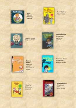 Zoznam kníh nájdete tu (formát pdf, veľkosť: 320kB).