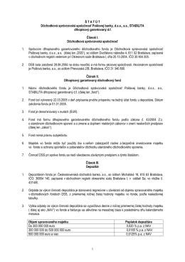 Dôchodková správcovská spoločnosť Poštovej banky, d.s.s., a.s.