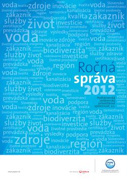 slovenská - Podtatranská vodárenská prevádzková spoločnosť, as