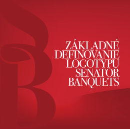 Design manuál - SEBA, Senator Banquets, s.r.o.
