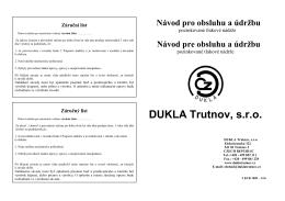 DUKLA Trutnov, s.r.o.