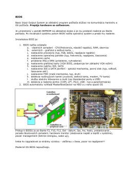 Basic Input Output System je základný program počítača slúžiaci na
