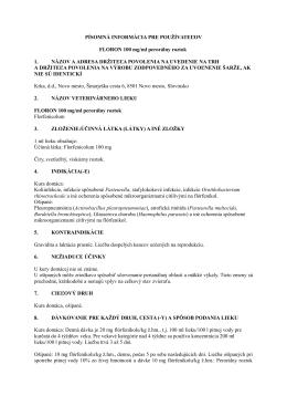 Floron 100mg/ml perorálny roztok , PIL.pdf