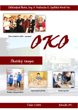 OKO 1/2014 - Vítajte na stránkach našej školy.