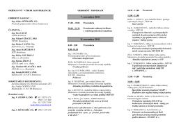 RI č. 33 - 43. konferencia vodohospodarov - Lipt Jan 2011 - ASPEK-u