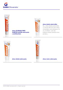 Product=402929;- elmex INTENSIVE CLEANING špeciálna zubná pasta