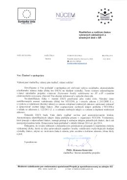 Europska unia rortifiknuar.urh merani vzdelavania / S pozdravom