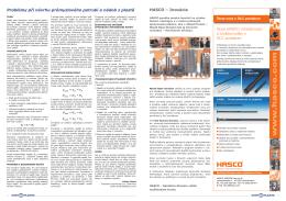 Problémy při návrhu průmyslového potrubí a nádob z plastů Nové