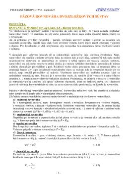 procesné strojníctvo - Katedra chemických strojov a zariadení SjF