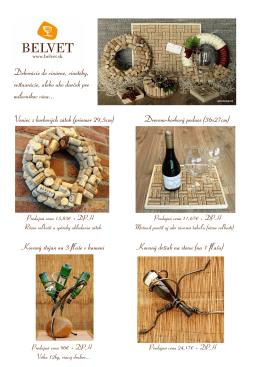 Dekorácie do vinárne, vinotéky, reštaurácie, alebo ako darček pre