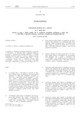 Nariadenie Komisie (EÚ) č. 348/2013 zo 17. apríla 2013, ktorým sa