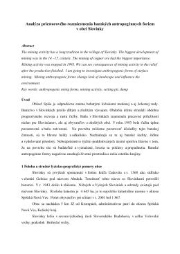 verzia na stiahnutie (pdf) - Fakulta humanitných a prírodných vied