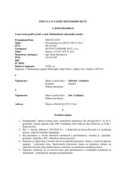 pdf 48 kB - Bytový podnik Svit s. r. o.