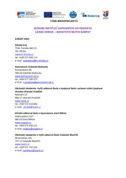 Seznam institucí zapojených do projektu.pdf