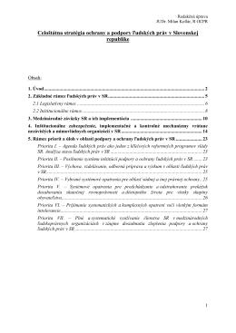 vlastný materiál - Rokovania Hospodárskej a sociálnej rady SR