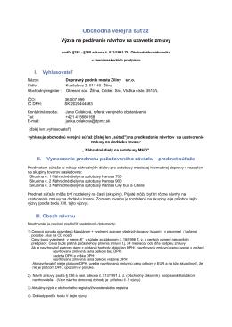 Náhradné diely na autobusy MHD - Dopravný podnik mesta Žiliny sro