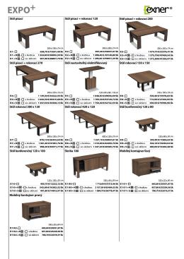 Stôl písací Stôl písací + rokovací 120 Stôl písací + rokovací 200 Stôl