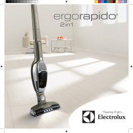 Electrolux ZB 2932 Vacuum Cleaner User Guide Manual Instruction