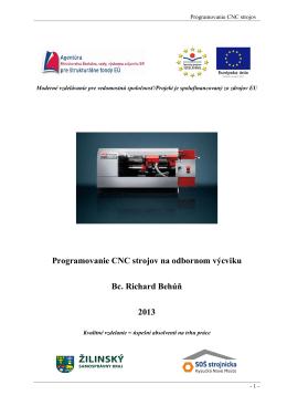 Programovanie CNC strojov.pdf - Stredná odborná škola strojnícka