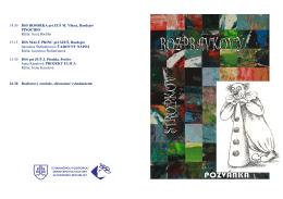 KS RS 2013 - harmonogram.pdf - Podduklianske osvetové stredisko