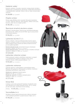 Lyžiarske rukavice unisex Lyžiarska bunda 3 v 1 € 534,00 Lyžiarske