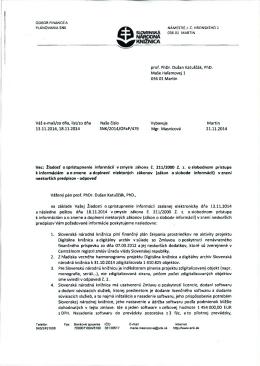 prof. PhDr. Dušan Katuščák, PhD. Maše Haľamovej 1 036 01 Martin