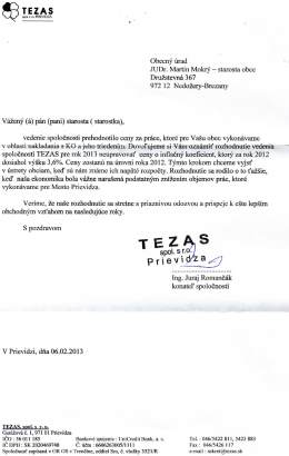 Obecny urad JUDr. Martin Mokry - starosta obce Druzstevna 367