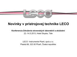 LECO Instrumente Plzeň, s.r.o.