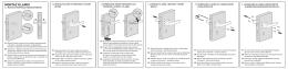 instrukcja do klamek kwadratowych ze stali nierdzewnej - Metal-Bud