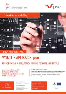 pozvánka/invitation (pdf) - Výskumné centrum Žilinskej univerzity v