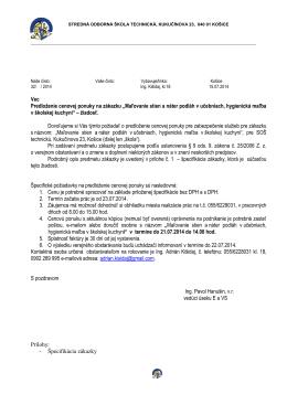 osobn ý dotazn í k - Stredná odborná škola technická, Kukučínova