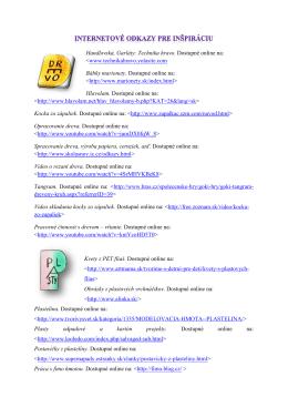 Odporúčané ODKAZY pre prácu s materiálmi.pdf