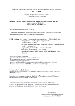 Výber. konanie TATIAR.pdf