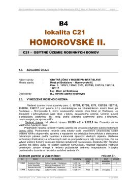 HOMOROVSKÉ II.