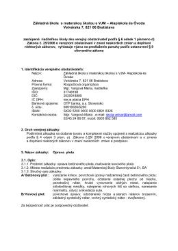 Základná škola s materskou školou s VJM – Alapiskola és Óvoda