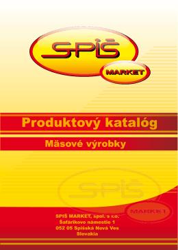 SPIŠ MARKET, spol. s r.o. T spol s r o Šafárikovo námestie 1 052 05