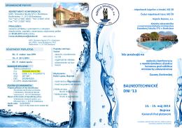 BALNEOTECHNICKÉ DNI 2013 - BOJNICE, 13.