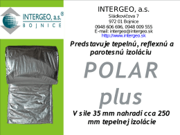 Snímek 1 - INTERGEO, a.s.