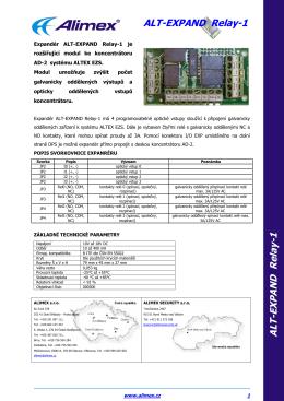 Expandér Relay-1 datasheet.pdf