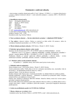 userfiles/info o zadávaní zákazky - revízie elektro .pdf