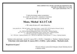 PARTE Mons_ Michal KluÄ ar.pdf