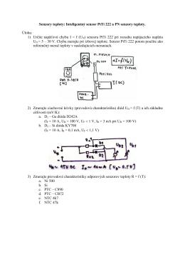 Senzory teploty: Inteligentný senzor PtTi 222 a PN senzory teploty