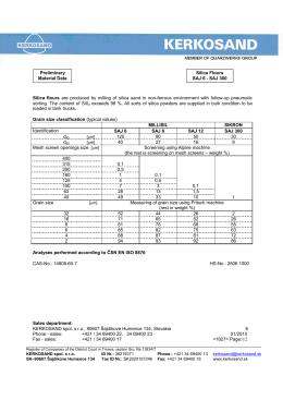 KERKOSAND spol. s ro, 90607 Šajdíkove Humence 134, Slovakia 6