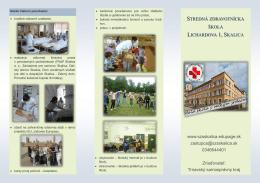 Infoleták - Stredná zdravotnícka škola, Lichardova 1, Skalica